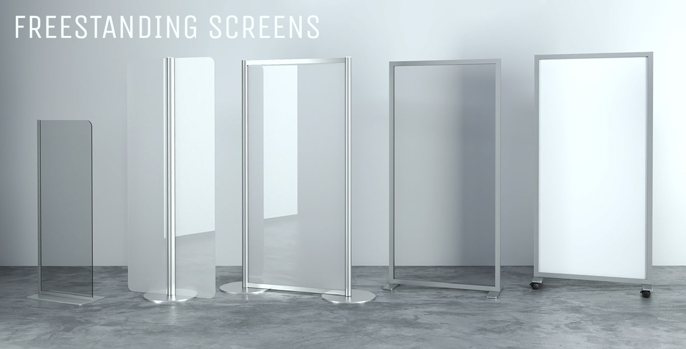 freestanding screen